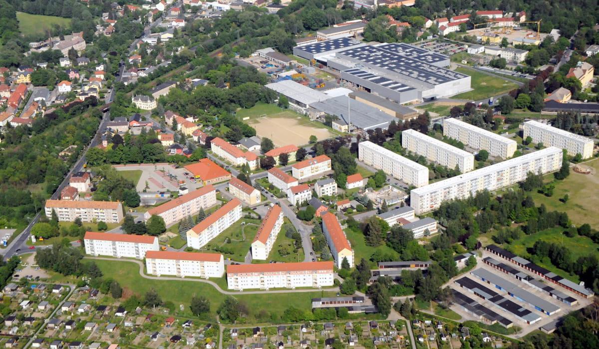 Luftbild Radeberg