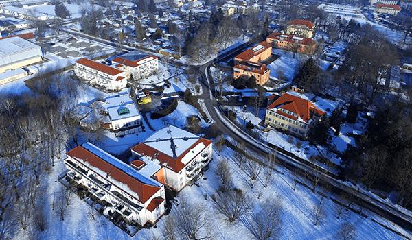 Radeberg im Winter